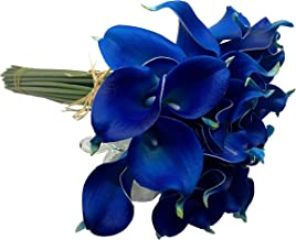 36/Heads 4 Bunch Calla Lily Flowers Bridal Wedding Party Decor Bouquet Latex Touch Artificial Flower