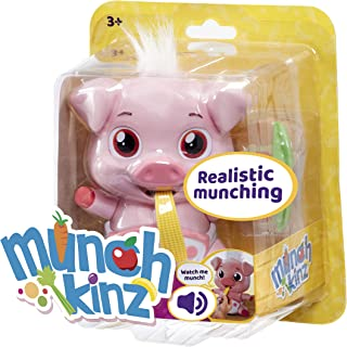 Munchkinz Interactive pet Pig with 30+ Sounds and Movement, Multi-Colour