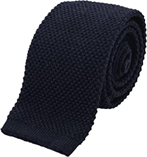 navy blue wool tie