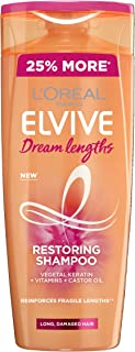 L'Oreal Elvive Dream Lengths Long Hair Shampoo, 500ml