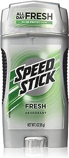 Speed Stick Deodorant for Men, Fresh, 3 oz, (Pack of 6)