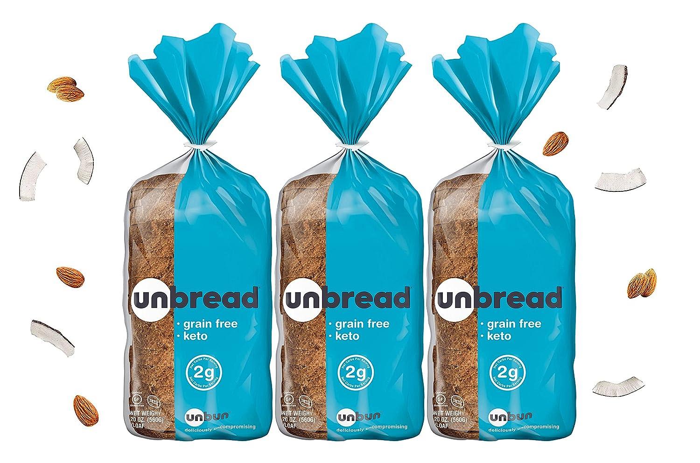 Unbun online shopping Bread - Keto Gluten Paleo Sliced Free Grain Superlatite