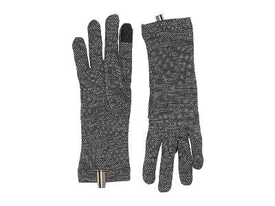 Smartwool Merino 250 Pattern Gloves (Black Snow Swirl) Extreme Cold Weather Gloves