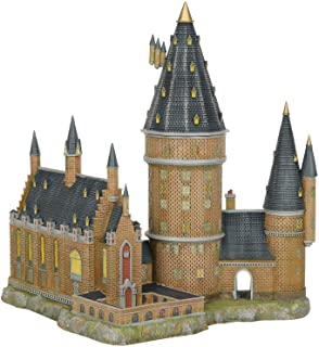 "Department56 Harry Potter Village Hogwarts Hall and Tower Lit Building, 13.07"", Multicolor"