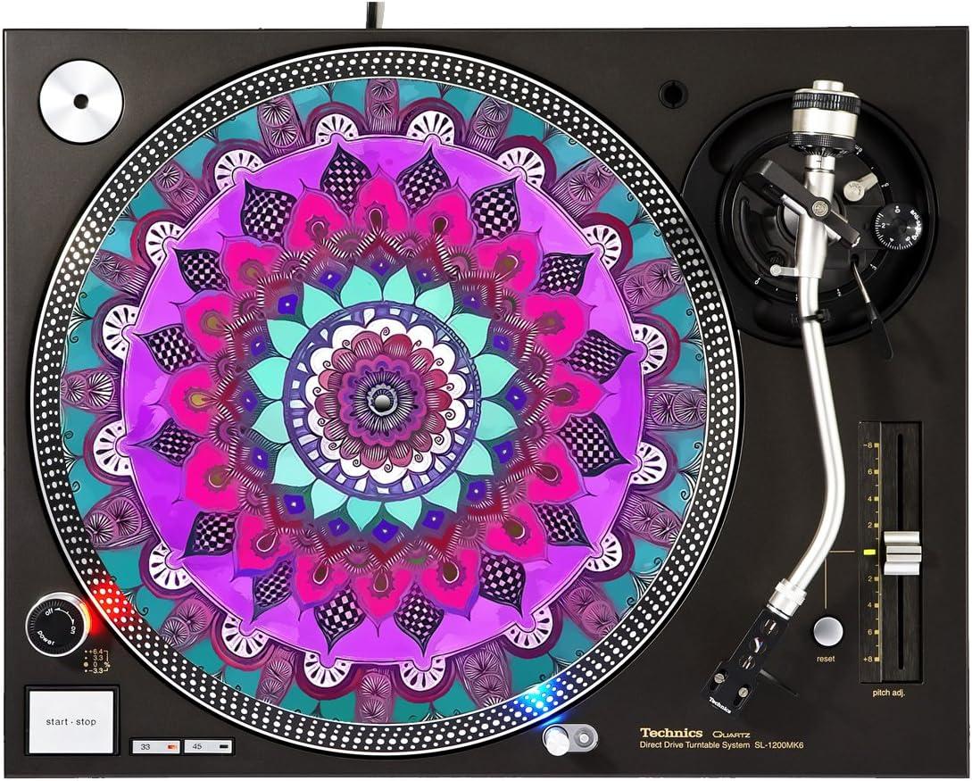 Paint 5 ☆ very popular Houston Mall Chakra - DJ Turntable Slipmat