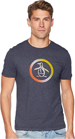 Ombre Flocked Circle Pete T-Shirt