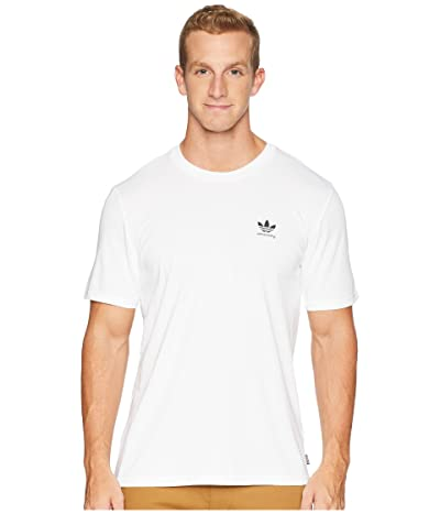 adidas Skateboarding Clima 2.0 Tee (White/Black 2) Men