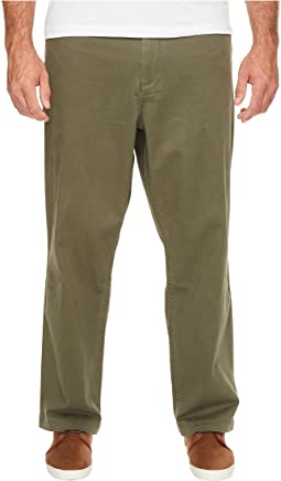 Dockers Big & Tall Washed Khaki Flat Front