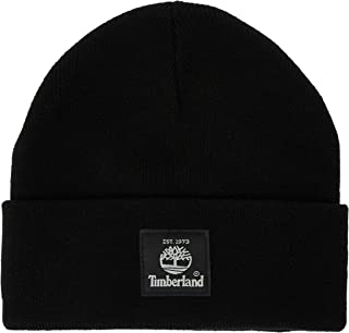 قبعة «تيمبرلاند» قصيرة للرجال مع العلامة التجارية منسوجة.