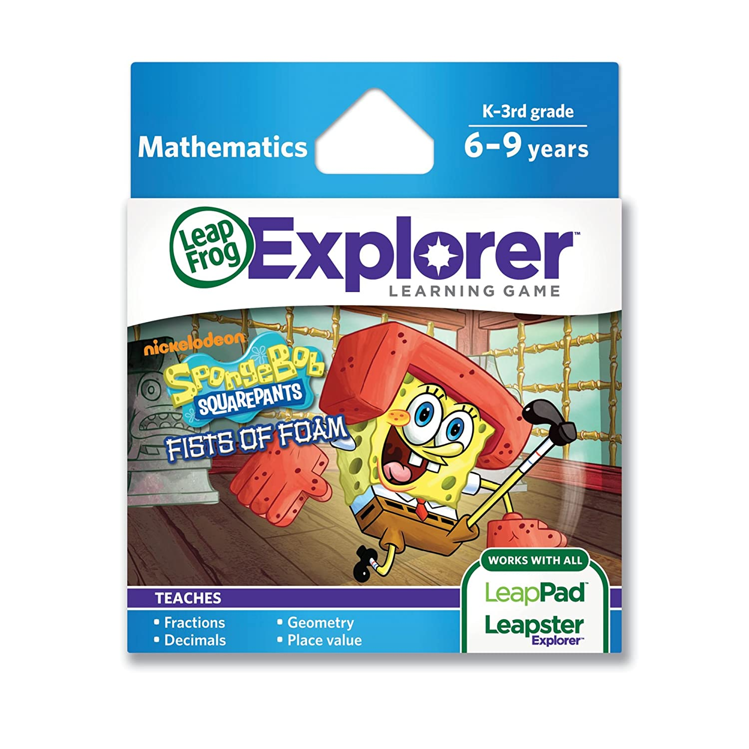 LeapFrog SpongeBob SquarePants Fists of Today's Indefinitely only work Learning Foam Game