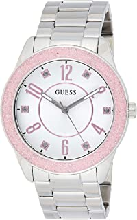 GUESS Womens Quartz Watch, Analog Display and Stainless Steel Strap - W1238L1