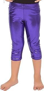 Girl's Metallic Mystique Capri Leggings