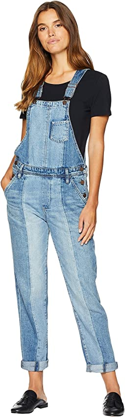 Denim Overalls in King Pin