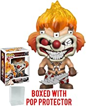 Funko Pop! Games: Twisted Metal Sweet Tooth Vinyl Figure (Bundled with Pop BOX PROTECTOR CASE)