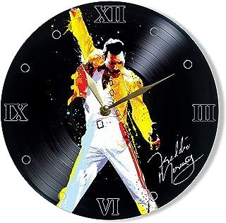 SofiClock Freddie Mercury frontman Queen Vinyl Clock Painted 12