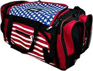 PROWIN1 US Flag Equipment Bag Taekwondo, Karate, Martial Arts Mesh Gear Bag MMA, Boxing, Travel Bag - 22