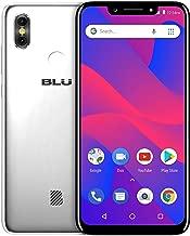 "Điện thoại di động Android – BLU R2 Plus 2019-6.2"" HD+ Display Smartphone, 16GB+2GB RAM –Silver (Renewed)"