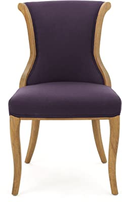 Amazon.com: Iconic Home Naomi Wingback - Silla de comedor ...