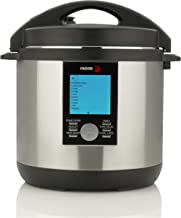 Fagor LUX LCD Multi-Cooker, 8 Quart - Digital Pressure Cooker, Slow Cooker, Rice Cooker and Yogurt Maker with 33 Cooking Programs - Stainless Steel - 935010063
