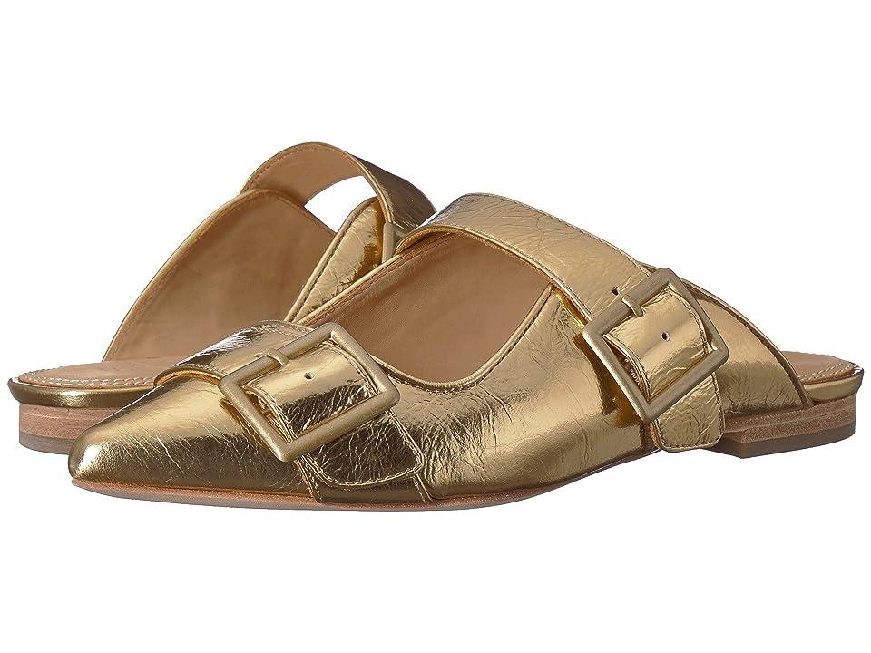 Bill Blass Slyvia Slide (Gold) Women