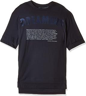 Armani Exchange Mens 3GZTLK T-Shirt, Multicolour (Dreamers Print B & Bl 6574), Large