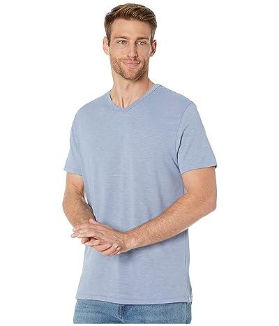 Alternative Slub Keeper V-Neck (Stonewash Blue) Men