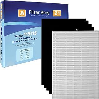 115115 Filtro HEPA de repuesto 'A' Combo par
