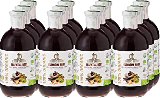 Georgia's Natural100% Organic Cold Pressed Essential Roots Juice, 750 ml x 12