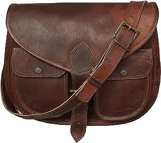 13 Inch Leather Purse Women Shoulder Bag Crossbody Satchel Ladies Tote Travel Purse Genuine Leather Ipad Bag
