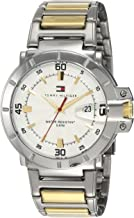 Tommy Hilfiger Analog Silver Dial Men's Watch - NATH1790514