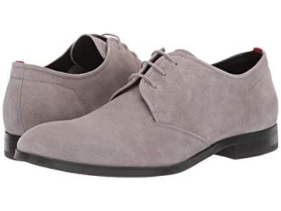 BOSS Hugo Boss Boheme Suede Derby by HUGO (Light Grey) Men