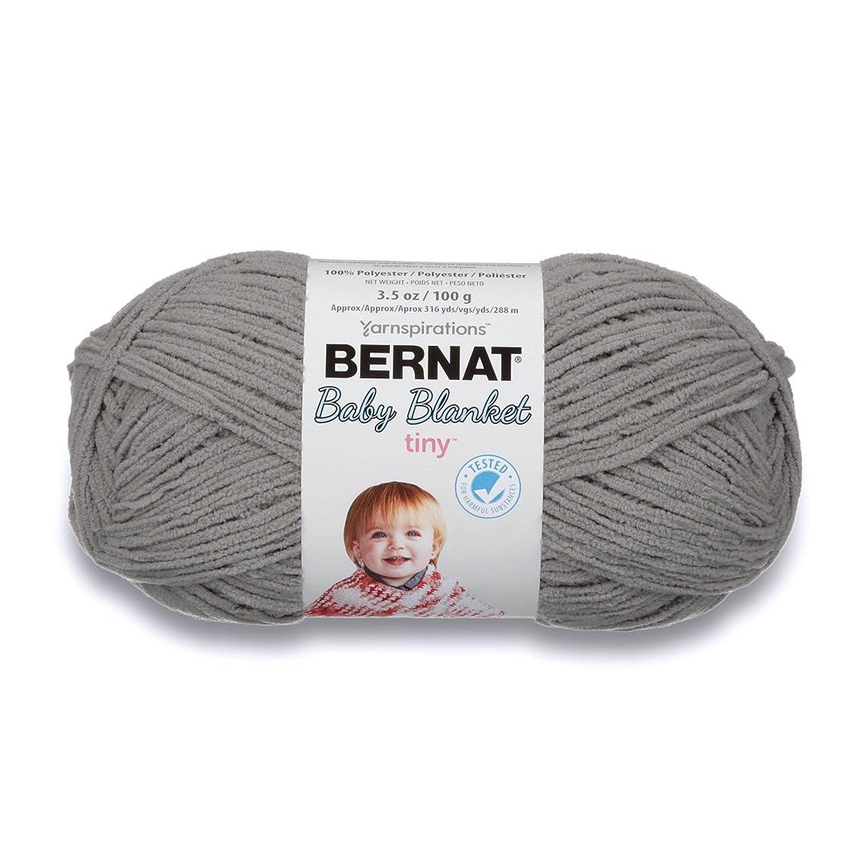 Bernat Baby Blanket Tiny Yarn, 3.5 oz, Gauge 4 Medium, Gray Owl