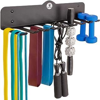 ChampStuff Gym Storage Rack, Workout Equipment Organizer,...