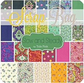 Slow and Steady Scrap Bag (TP.SS.SB) by Tula Pink for Freespirit