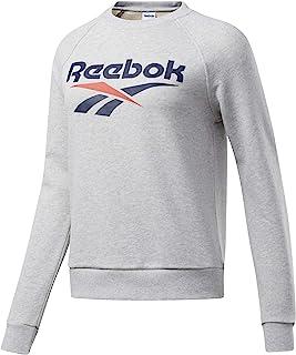 Reebok Men's Classic Vector Crewneck Crew Neck Sweatshirt