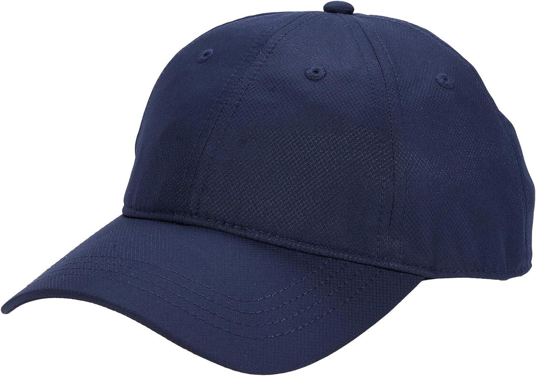 Lacoste Men's Sport Solid Taffeta Side Croc Hat