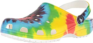 Crocs Womens Unisex-Adult Mens Classic Tie Dye Graphic Clog