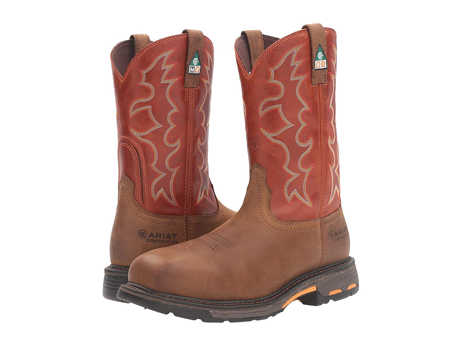 Ariat Workhog Wide Square Toe CSASelling fashionable and eye-catching shoes