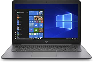 HP Stream 14-inch Laptop, Intel Celeron N4000, 4 GB RAM, 64 GB eMMC, Windows 10 Home in S Mode with Office 365 Personal for 1 Year (14-cb186nr, Brilliant Black)
