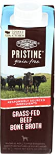 Castor & Pollux Pristine Grass-Fed Beef Bone Broth Dog Food Topper, 8.4 FZ