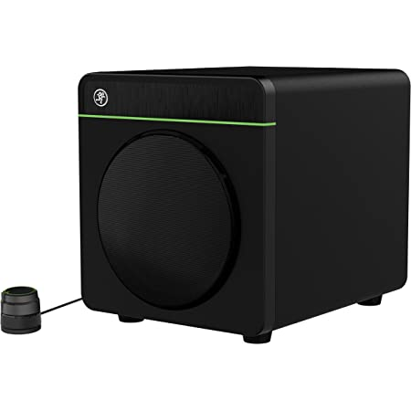 Mackie CR-X Series, 8-Inch Multimedia 200w Subwoofer with Professional Studio-Quality Sound, Bluetooth and Desktop Volume Control (CR8S-XBT)