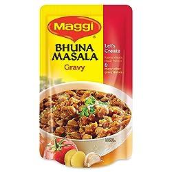 Nestle MAGGI Bhuna Masala Vegetable Seasoning, Gravy – 65g Pouch