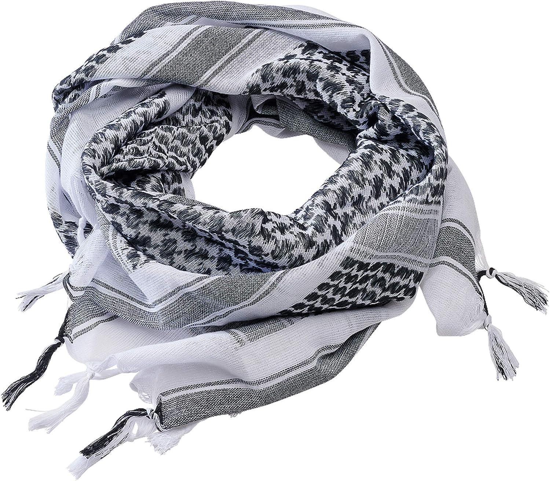 Brandit Shemag Scarf White/Black