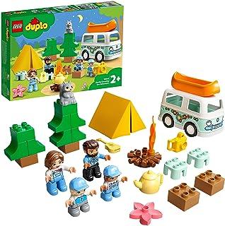 LEGO 10946 DUPLO Town Familie Camper Avonturen, Auto Speelgoed voor Peuters van 2 Jaar