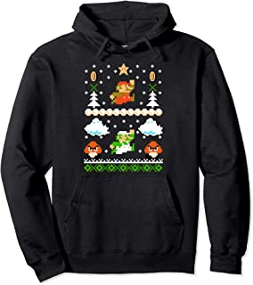 Mario Goomba Ugly Christmas Sweater Hoodie