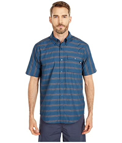 Marmot Beacon Hill Short Sleeve (Denim) Men