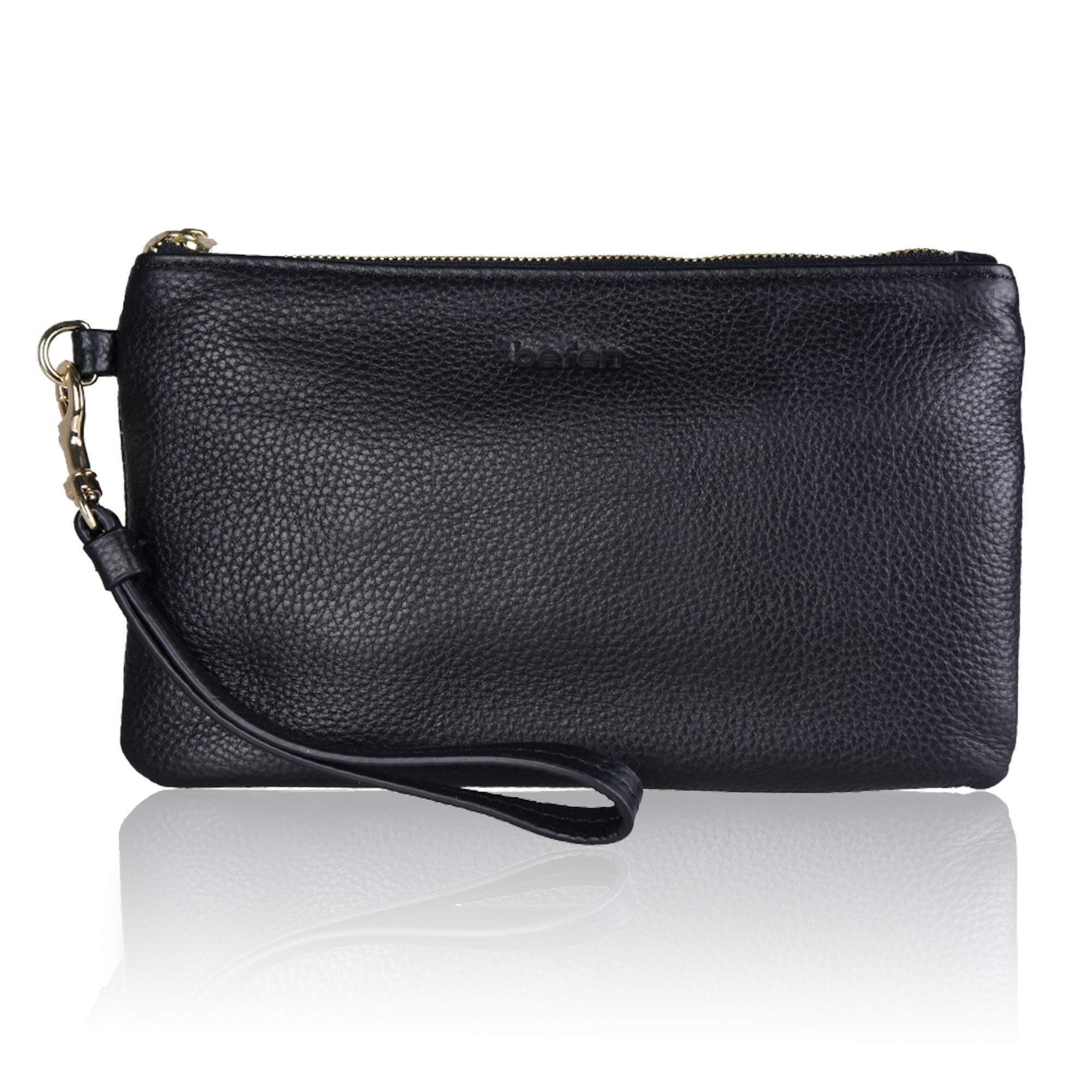 Befen Genuine Leather Smartphone Wristlet