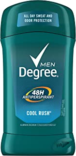 Degree 男性のオリジナル保護制汗デオドラント、クールラッシュ、2.7オズ(6パック)(パッケージングは??変更になる場合があります)