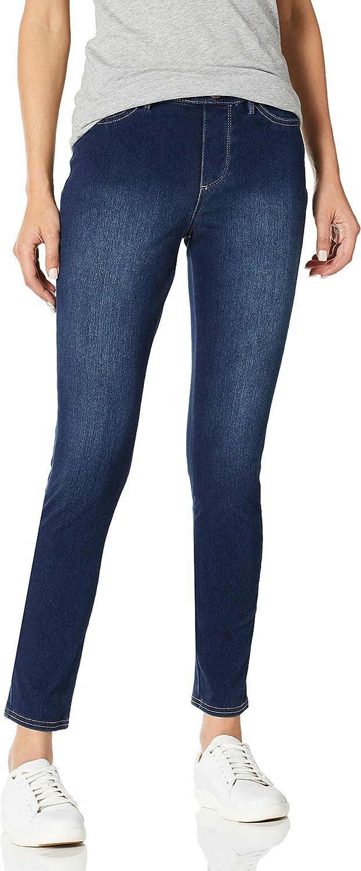 Bandolino Women's Bella All Day Comfort Pull on Knit Denim Legging