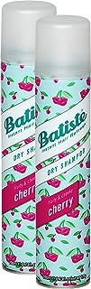 Champú seco Batiste Fruity & Cheeky Cherry cabello fresco para todos los tipos de cabello (2 x 200 ml)